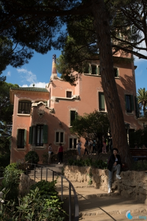 <p>Park Guell Gaudies House</p>