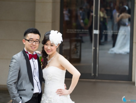 <p>Why do most Chinese brides look better than their husbands?  Myself included.</p>